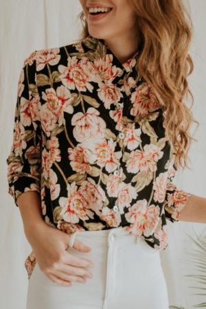 Camisa Lali Flores